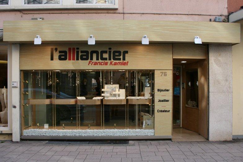 Agencement bijouterie Alsace