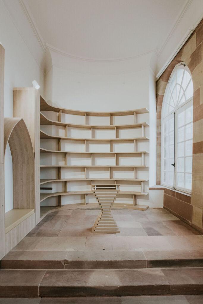 Agencement boutique librairie Cathédrale de Strasbourg