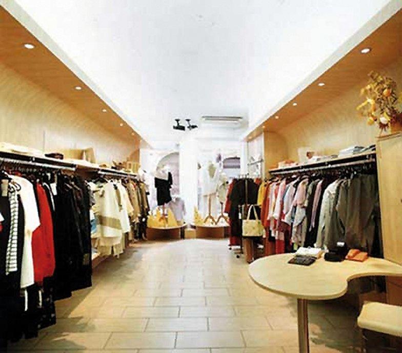 Agencement de la boutique Simie à Molsheim