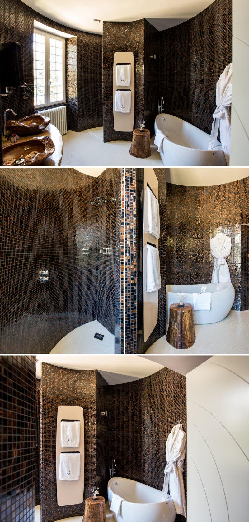 Décoration ethnique salle de bain