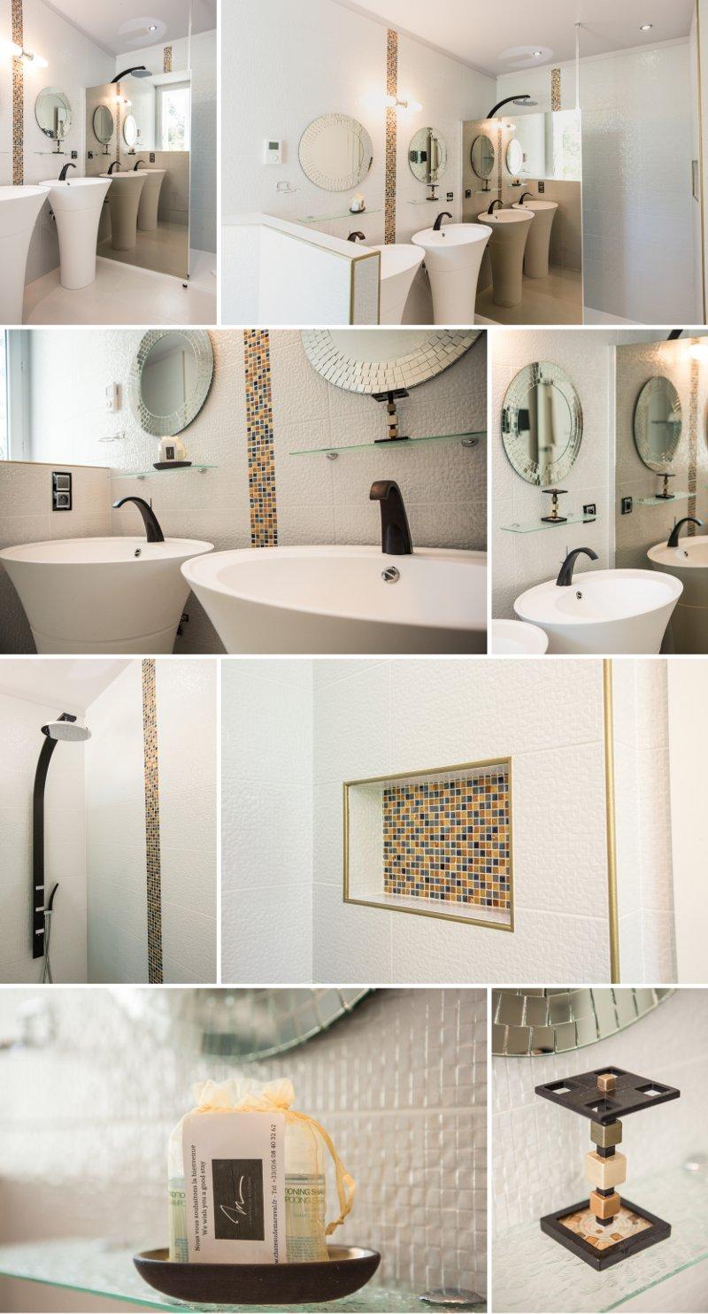 Décoration klimt salle de bain