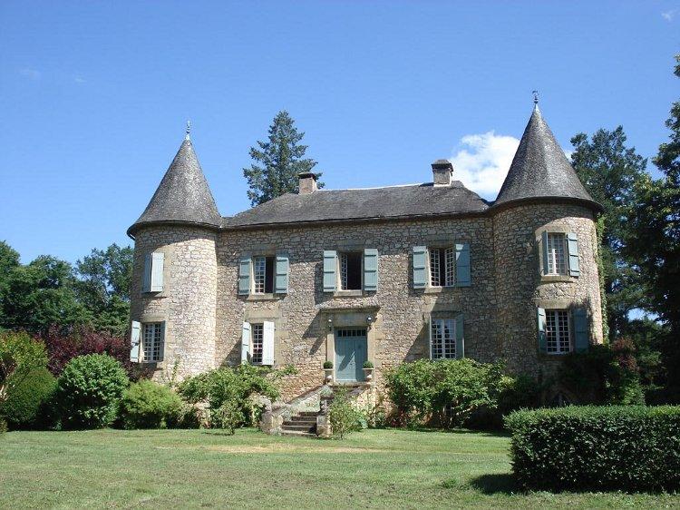 Le château avant rénovation