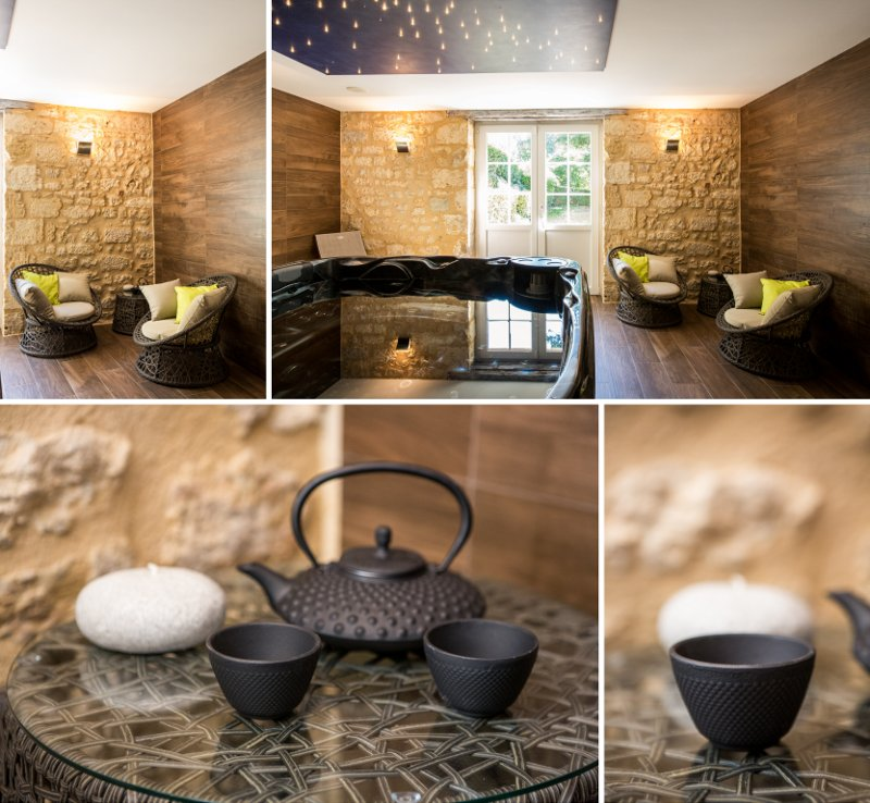 Agencement spa architecture d'intérieur