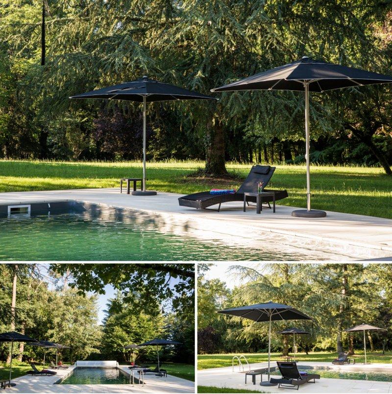 Rénovation piscine château Périgord