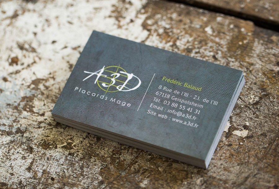 Souvent Carte de visite // A3D   A3 Design MS77