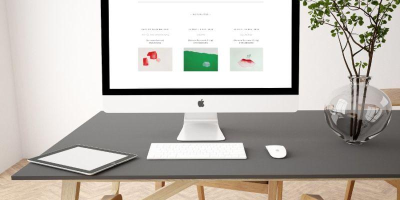 Création site internet Elisabeth Frering