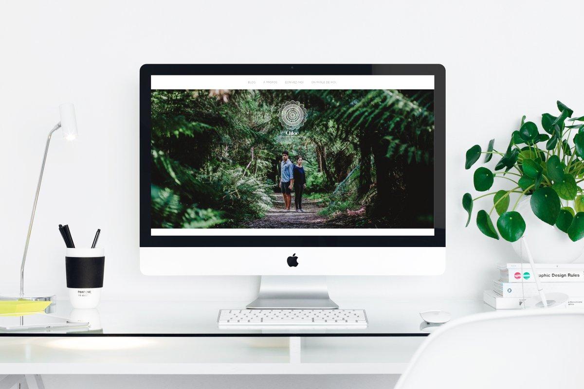 Design de site Internet // Photography by Chloe