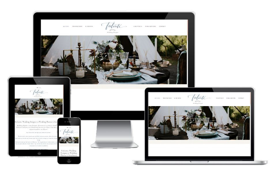 Refonte de site internet wedding planner Strasbourg