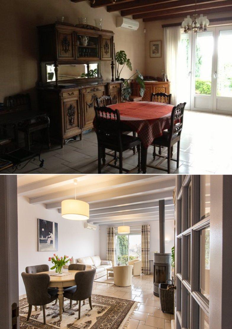 D coration de charme dans une maison d 39 obernai a3 design - Renovation maison avant apres ...