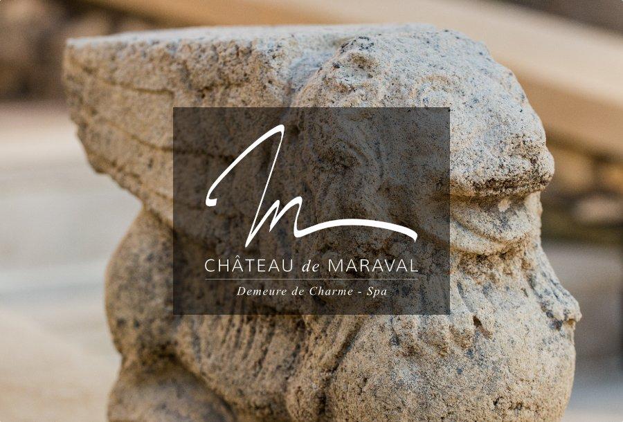 Logo & identité visuelle // Château de Maraval