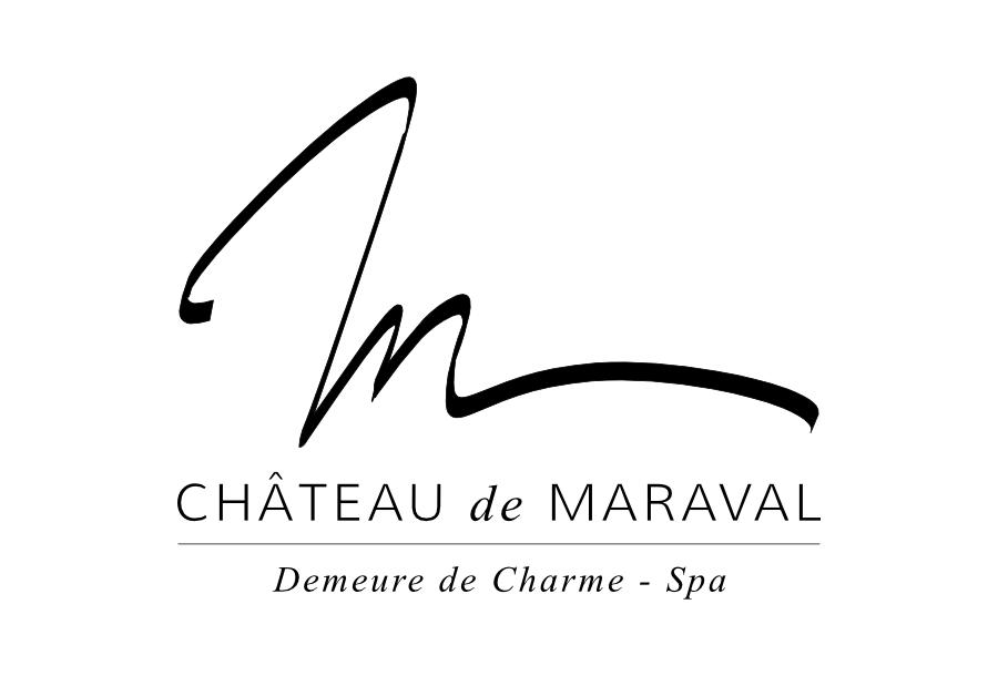 Design logo Château de Maraval