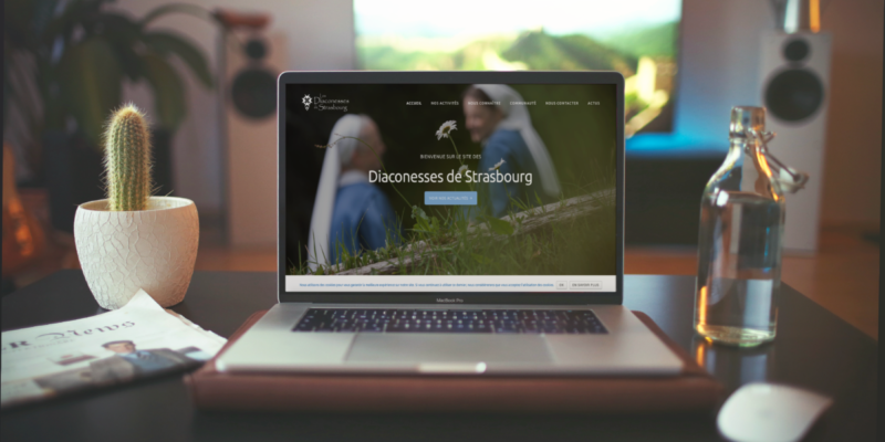 Site Internet // Site internet pour les Diaconesses de Strasbourg