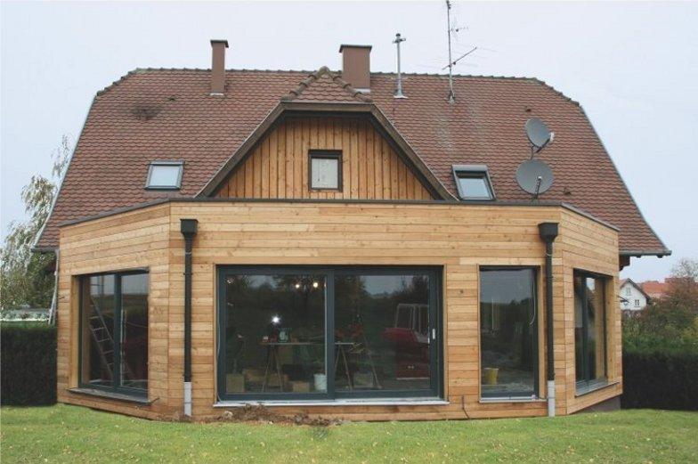 Extension maison Haguenau Alsace