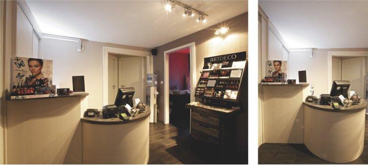 Agencement d'un institut de beauté à Haguenau