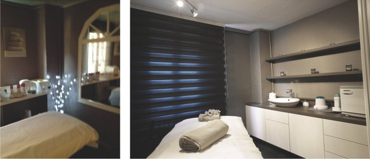 Agencement d 39 un institut de beaut haguenau a3 design - Comptoir caisse pour institut de beaute ...