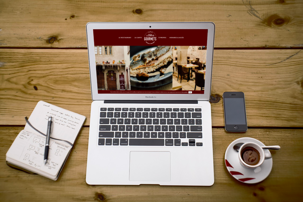 Création de site internet pour un restaurant à Obernai