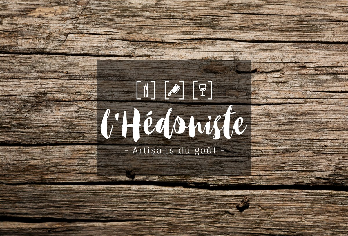 Logo & identité visuelle restaurant l'Hédoniste