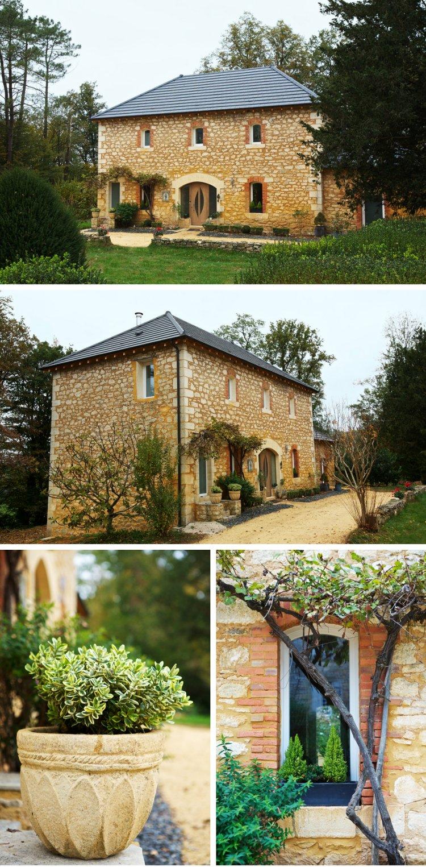 Rénovation d'une maison en pierre en Dordogne