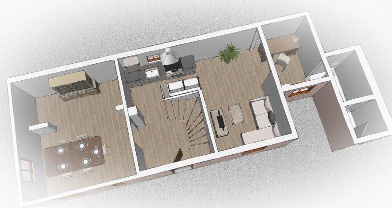 Projet rénovation maison alsacienne