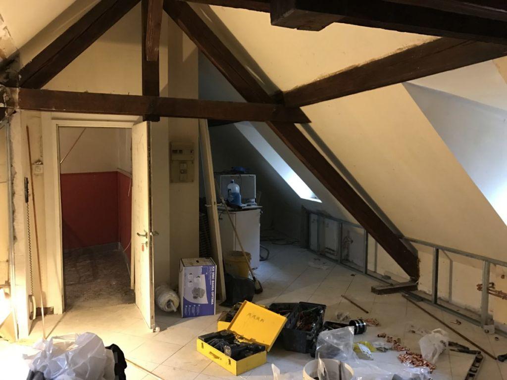 Rénovation appartement sous combles Strasbourg
