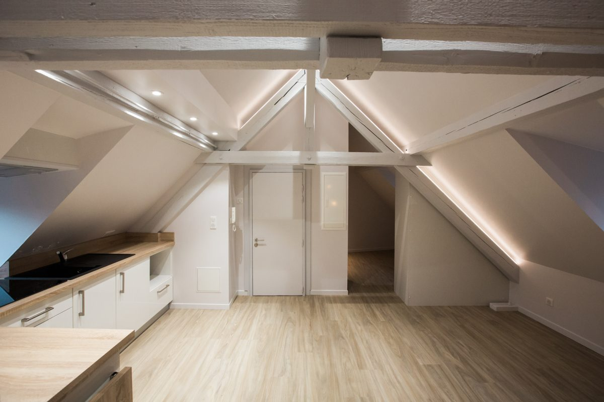 R novation d un appartement strasbourg a3 design for Renovation appartement design