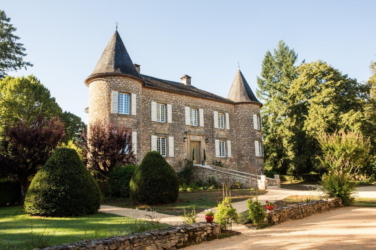 Rénovation d'un château dans le Périgord