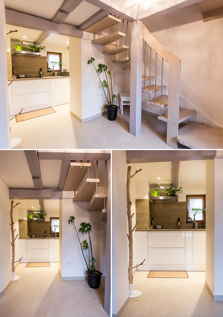 R novation maison alsacienne pr s de strasbourg a3design - Photo de renovation de maison ...